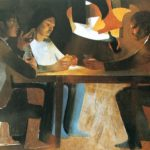 Arcabas' 'the supper at Emmaus'