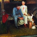 Norman Rockwell's 'Breaking Home Ties'