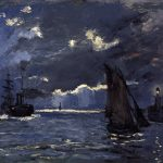 Claude Monet's, 'A Seascape, Shipping By Moonlight'