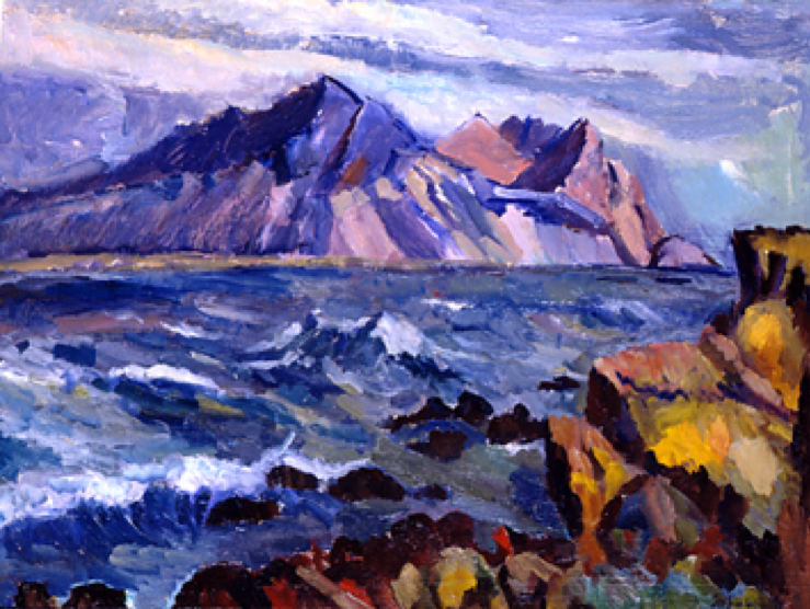 Vestra Horn by Hornafjörður